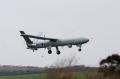Watchkeeper UAV first flight in UK at MoD Aberporth. 14th April 2010.