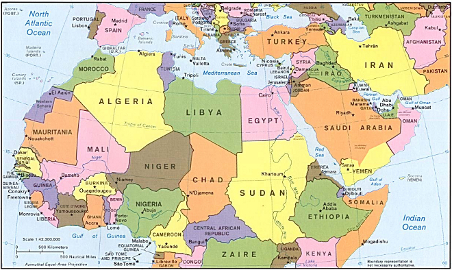 American Drones Over Africa New US Military Bases In West Africa - Us military bases in africa map