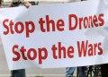 Drone-protest