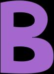 purple-alphabet-letter-b