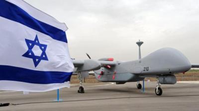 Israeli Heron drone