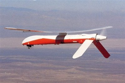 Leading System' Amber UAV - grandfather of the Predator drone