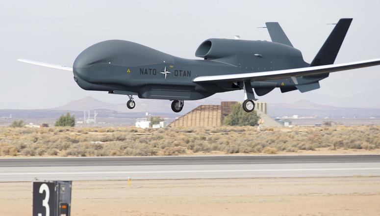 NATO AGS UAV