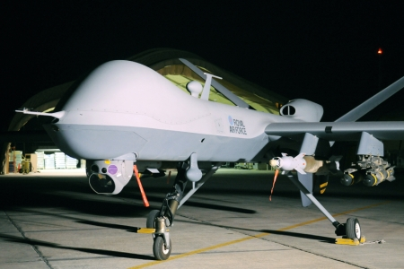 Where Are Britain's Armed Drones? Legal Procedure Launched against