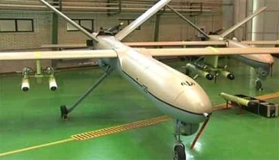 An Iranian Shahed 129 drone